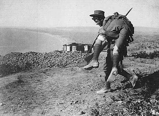 The Anzac Spirit. Australias Military Legend